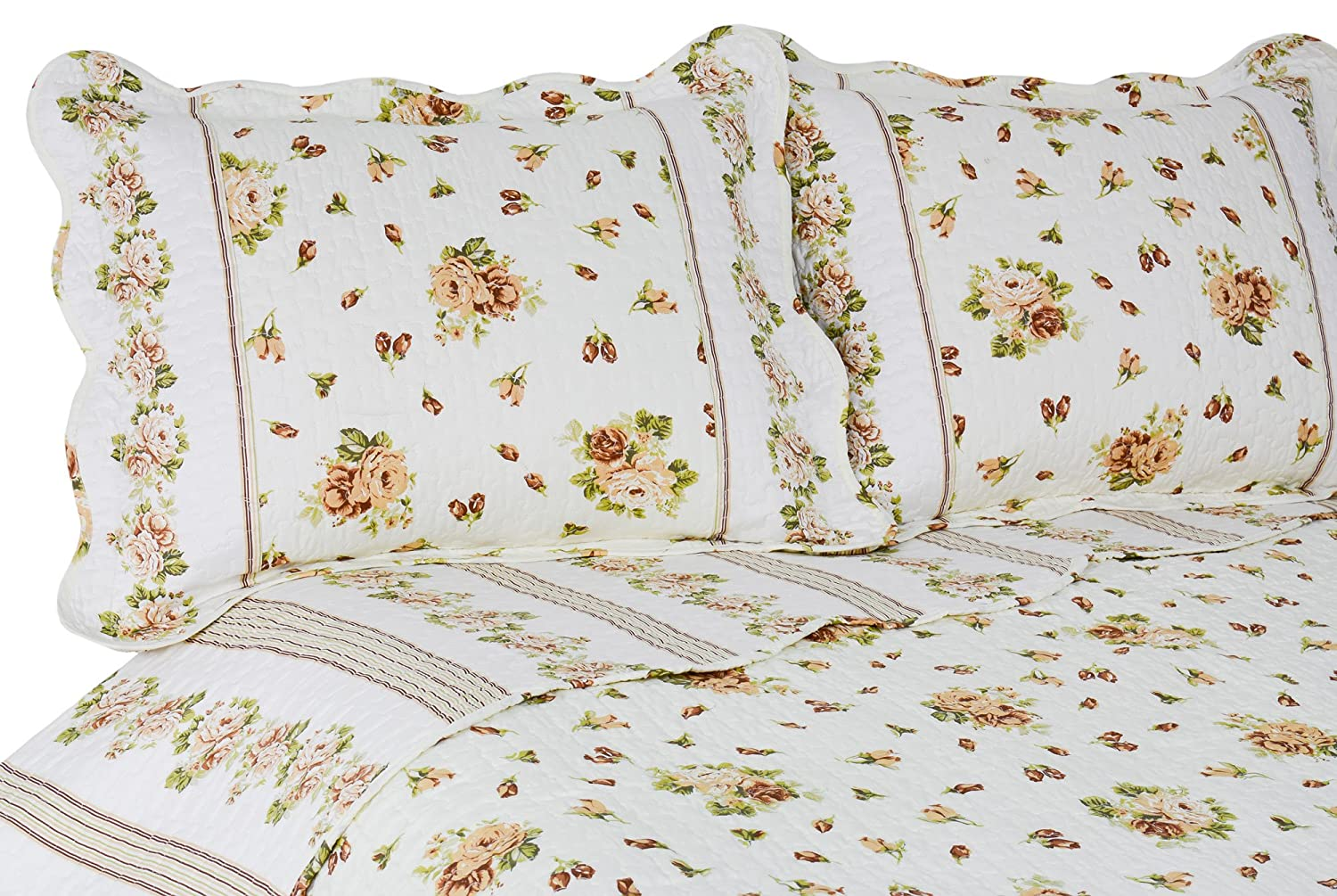 King Size Bedspreads And Quilts Yellow Rose Bedding Set