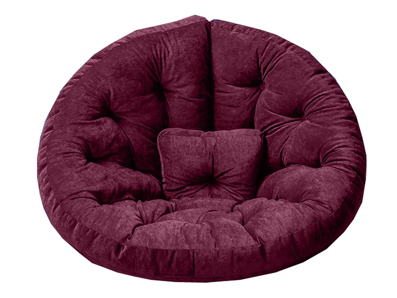 GARDENho.me Magic Seat OCTOPUS Strandgut07 Sitzmuschel, Sitzsack, Indoor, Velour, XXL, Lila, ca. 215 cm günstig kaufen