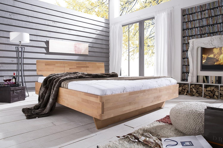 SAM® Massives Holzbett Cielo aus Kernbuche 140 x 200 cm online kaufen