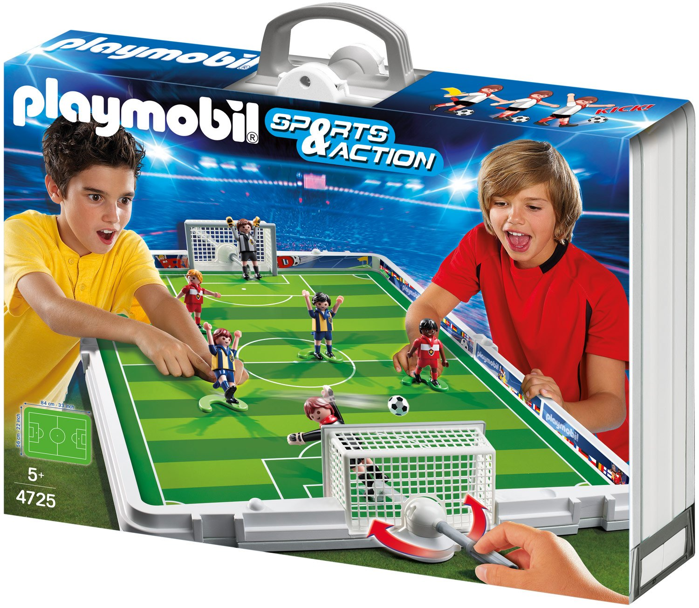 PLAYMOBIL® Große Fußball-Arena im Klappkoffer (4725)
