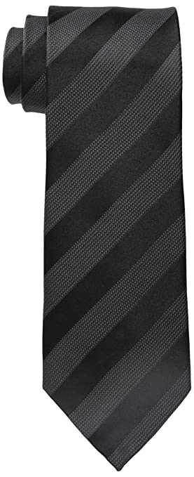 Donald Trump Men's Satin Texture Stripe Tie