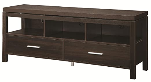 TV Console in Dark Brown