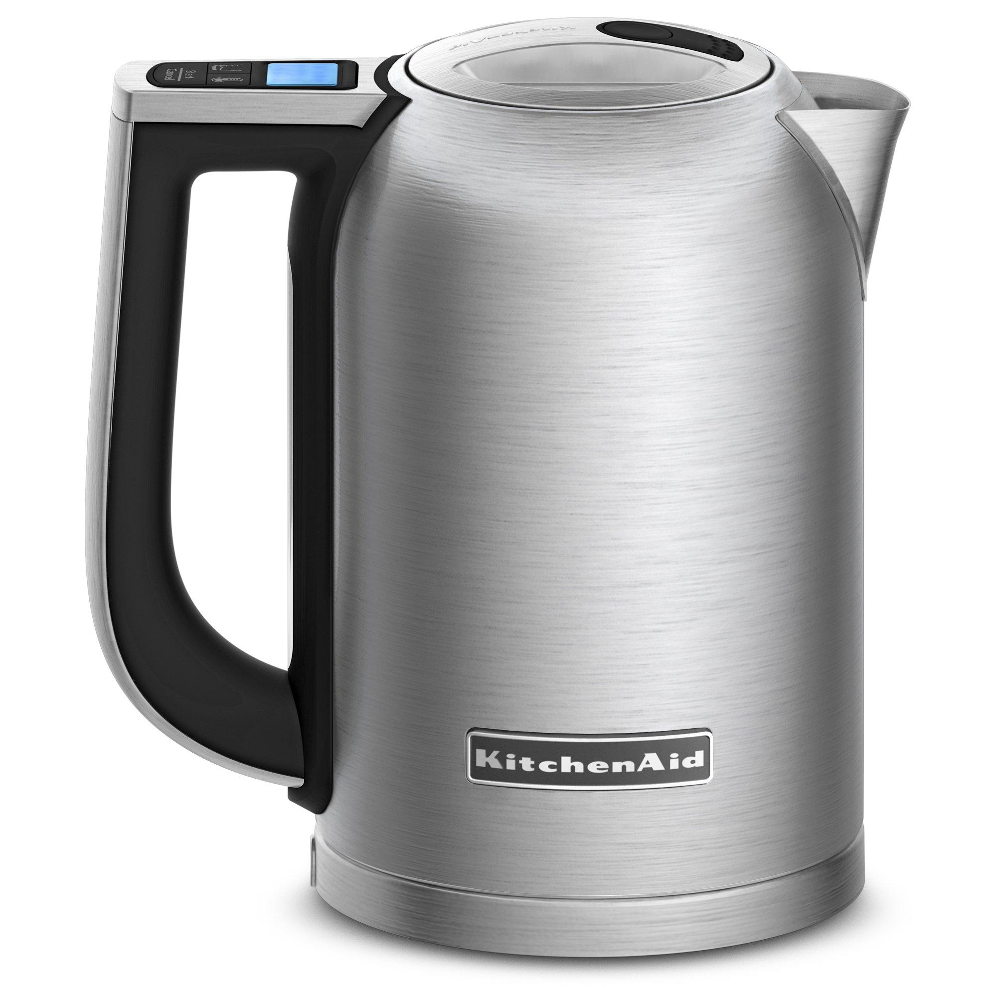 Kitchenaid Electric Kettle ~ Kitchenaid kek sx liter electric kettle with led