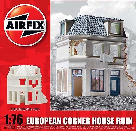Airfix - A75003 - Maquette - European Ruined Corner House - Echelle 1:76