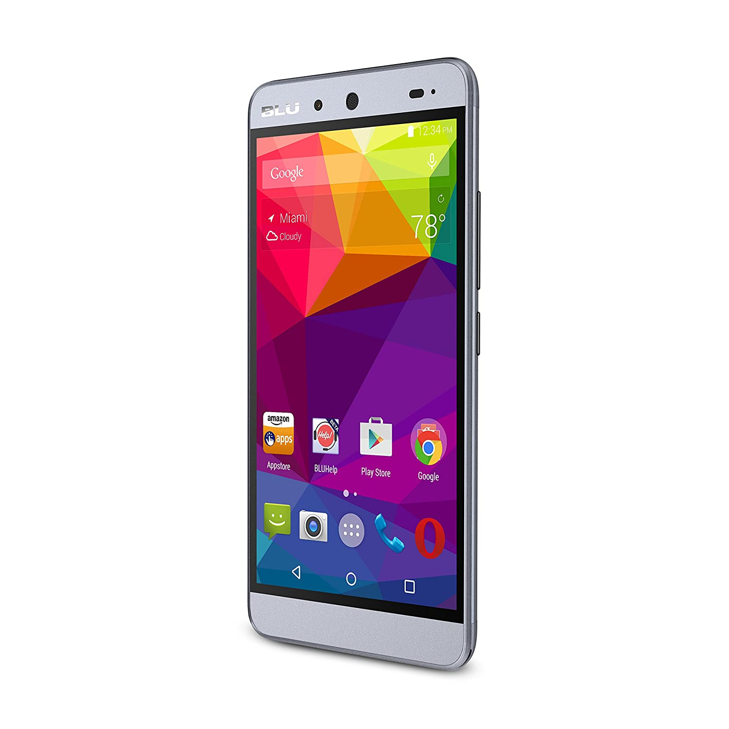 BLU ENERGY X Smartphone - With 4000 mAh Super Battery - GSM Unlocked - Grey