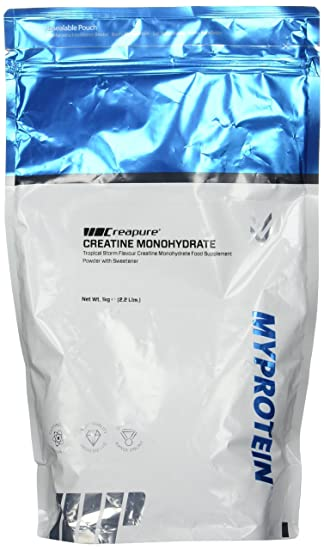Myprotein Creatine Creapure Tropical, 1er Pack (1 x 1 kg)