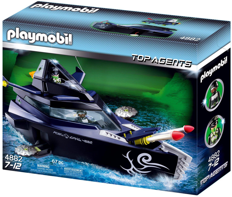 PLAYMOBIL® Robo-Gangster Turbokampfschiff (4882)