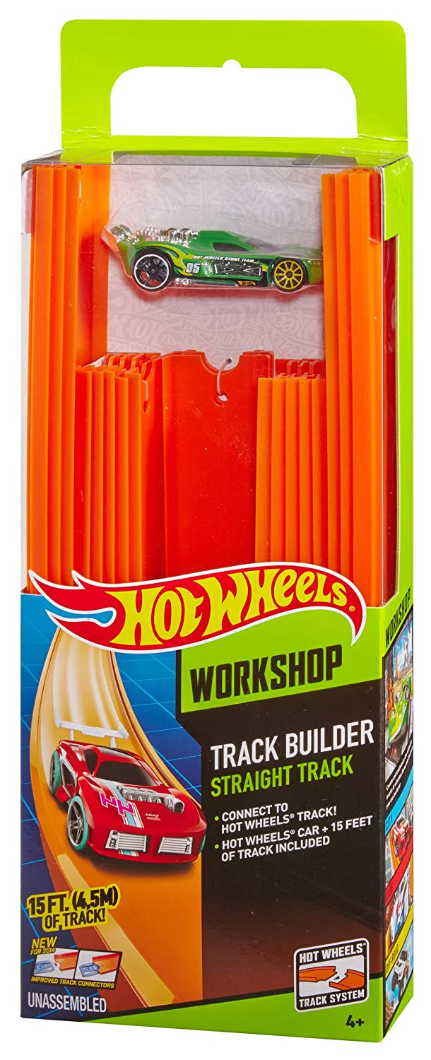 Hot Wheels Car and 15' of Track Pack