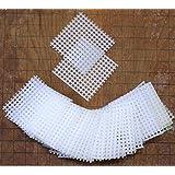 Bonsai Jack (50 2x2 Inch Rigid Polyethylene Medium Bonsai Pot Mesh Drainage Screens