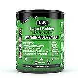Liquid Rubber Waterproof Sealant, Black 1 Quart (Color: Original Black, Tamaño: 1 Quart)