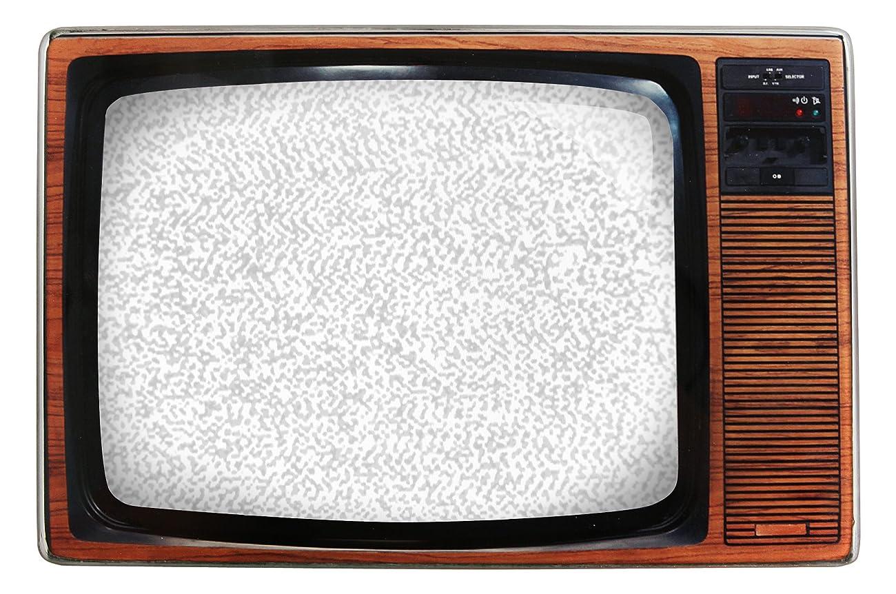 Kikkerland Retro TV Photo Frame, Light Brown 0