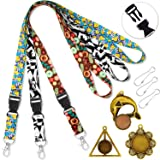 Lanyards for id Badges Holder Lanyard for Keys Women Kids Cruise lanyards for Ship Card with Pendant Ornaments Lanyard Width 0.79 inches (2cm) Quick Release Neck Office Lanyard id Card Holders 3 Pack (Color: 3 Pack-lanyard, Tamaño: 3pack lanyard with Pendant ornaments)