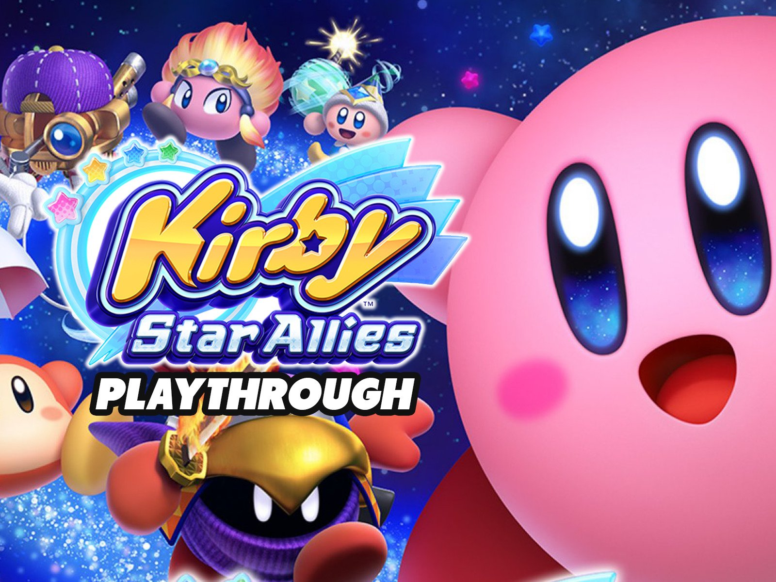 Clip: Kirby Star Allies Playthrough - Season 1
