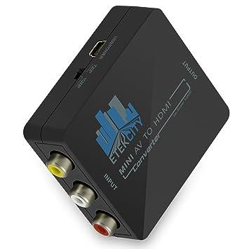 Etekcity reg Composite 3 RCA video AV S video CVBS