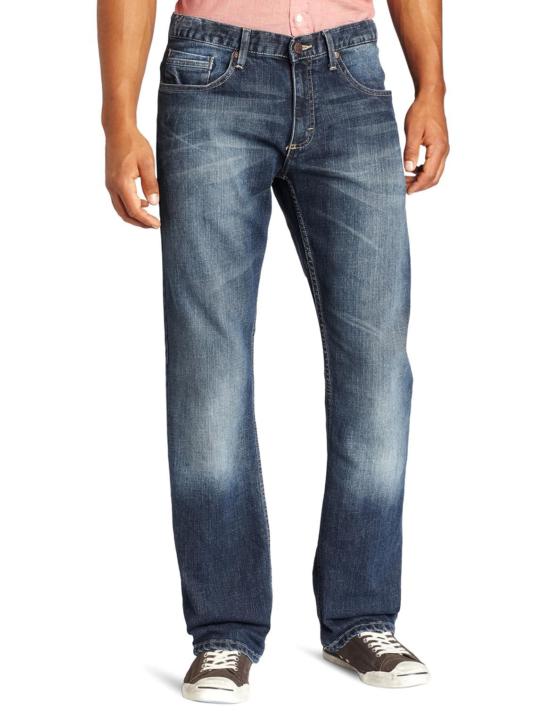 Lee 男士经典款直筒牛仔裤,经典款式,衣柜必备,$23,还可以用衣物八折卷,到手价格仅¥192