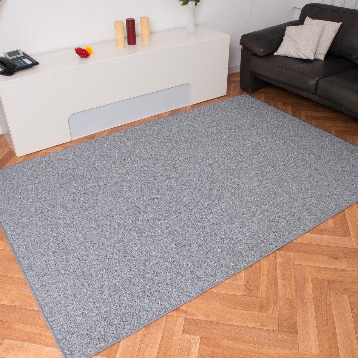 Schlingen Teppich Torronto grau, Größe Auswählen200 x 290 cm    Überprüfung und Beschreibung