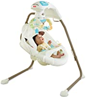 Fisher-Price Cradle 'n Swing with AC Adapter, My Little Lamb