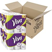 Viva Choose-a-Sheet Paper Towels, Big Plus Roll, 24 Count (White)