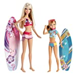Barbie Sisters Surfing Barbie And Stacie Doll