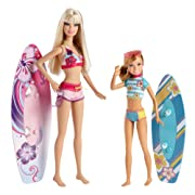 Barbie Sisters Surfing Barbie and Stacie Doll (2-Pack)