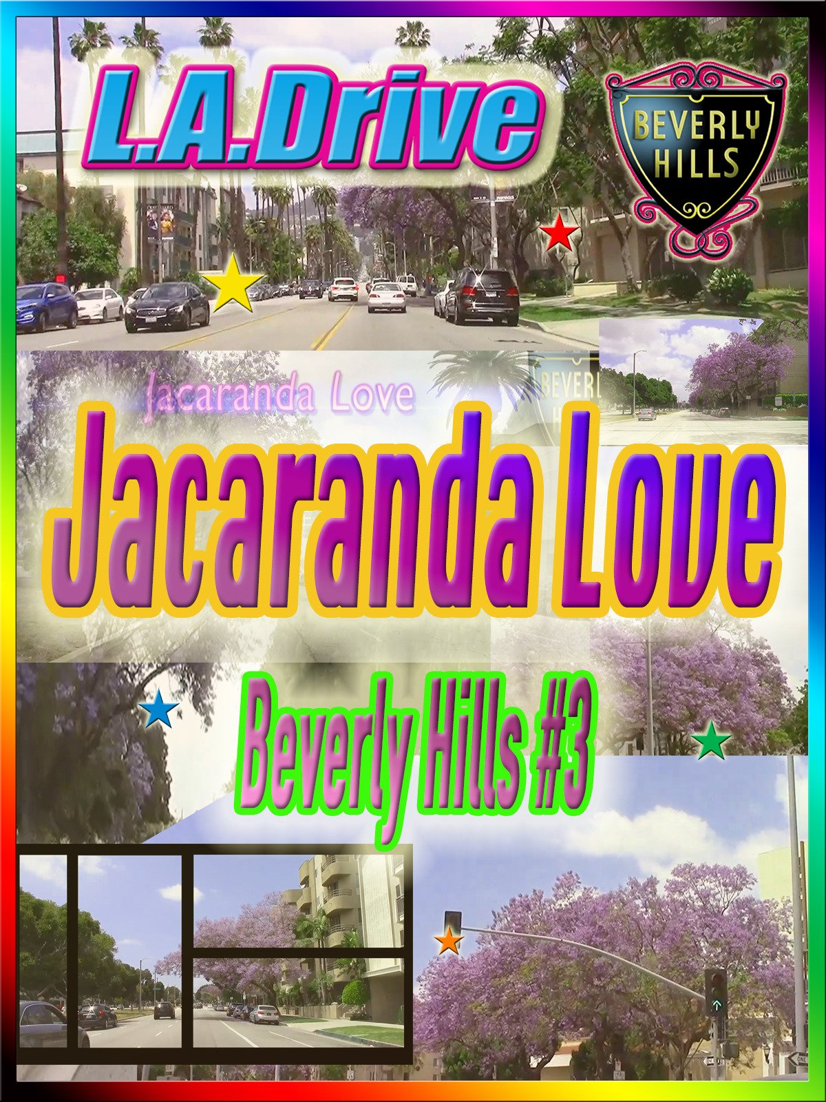 Clip: L.A. Drive Jacaranda Love Beverly Hills #3 on Amazon Prime Video UK