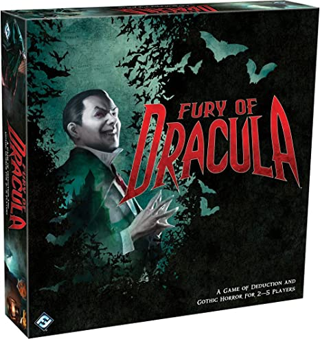 Fury of Dracula 3rd Edition Board Game