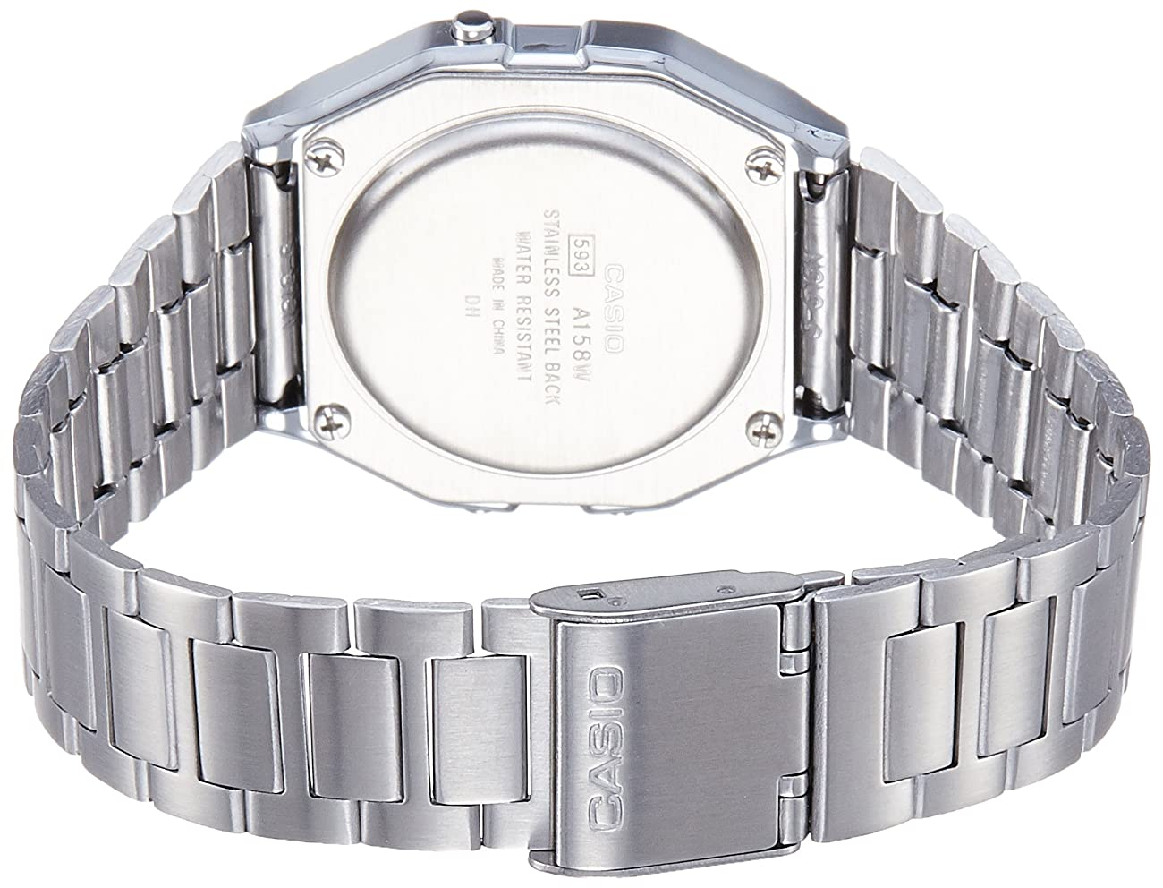 Casio Men'sA158WA-1DF Stainless Steel Digital Watch 1