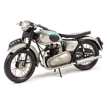 Modèle réduit métal vintage - Moto Triumph Bonneville 650