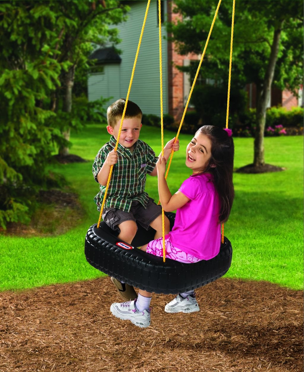 An Image of Little Tikes Tire Swing