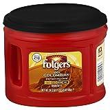 Folgers 100% Colombian Ground Coffee, Medium-Dark Roast, 24.2-Ounce, 6 Count (Tamaño: Ground)