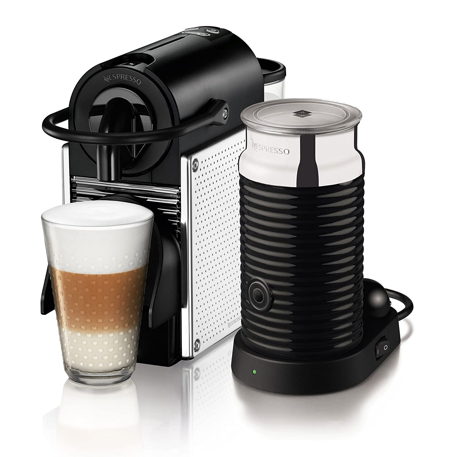 delonghi en 125 mae machine caf nespresso pixie acier. Black Bedroom Furniture Sets. Home Design Ideas