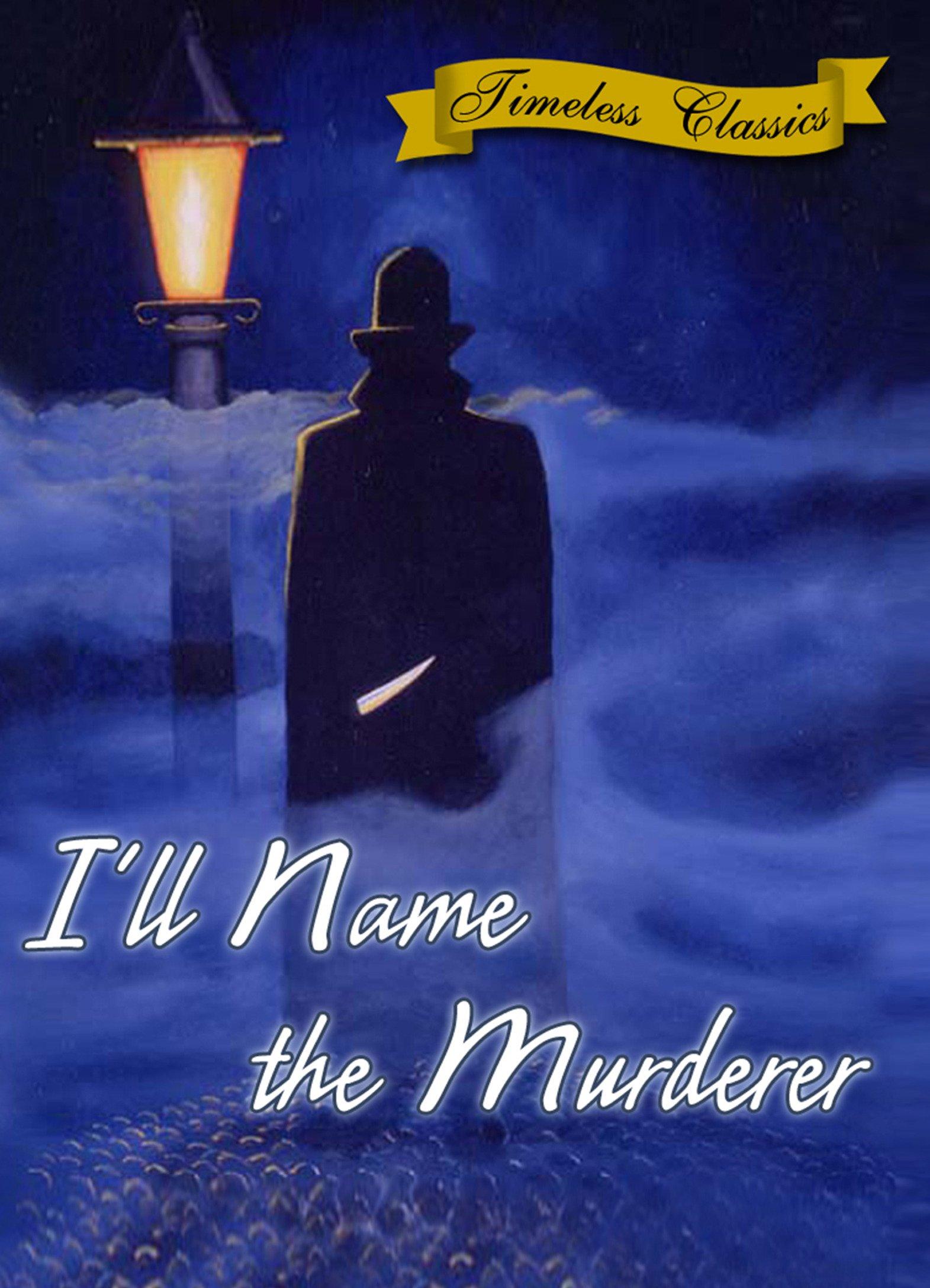I'll Name the Murderer (1936)