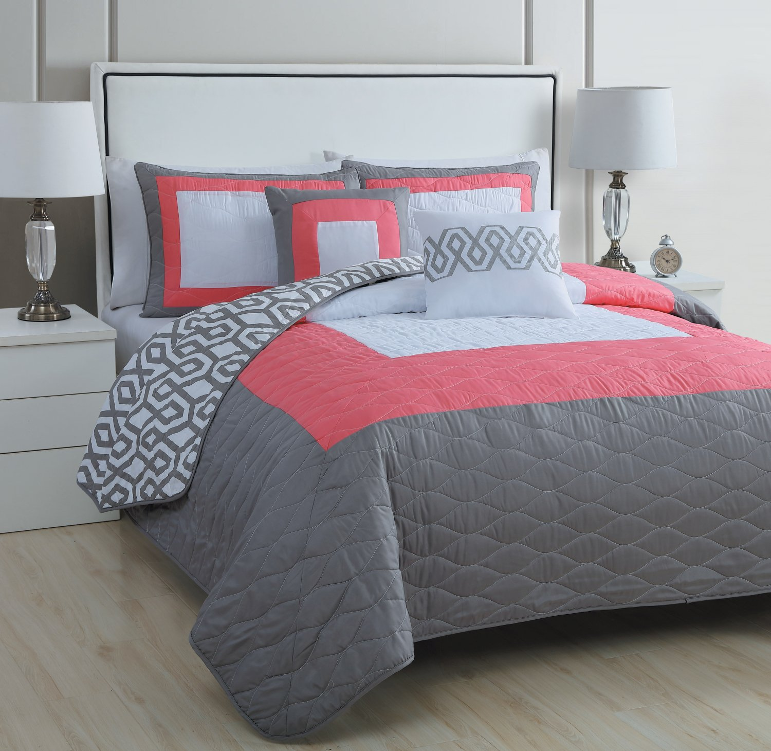 Find and save ideas about Coral bedding on Pinterest. | See more ideas about Coral comforter set, Coral co uk and Gray coral bedroom. Home decor. Coral bedding; Coral bedding. Coral comforter set Shabby Chic - Vintage Baby Bedding - Pink Lace - Coral Bedding. Find this Pin and more on BABY NURSERIES DECOR IDEAS by .