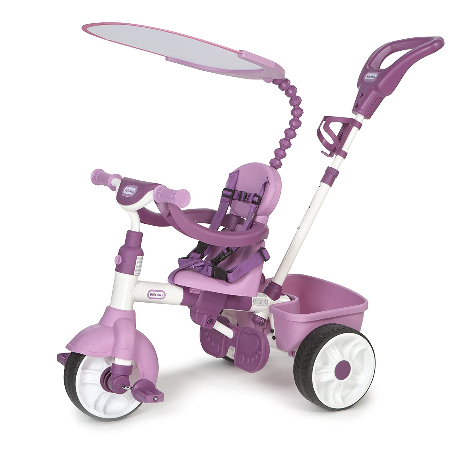 Little Tikes 4-in-1 Basic Edition Trike, Pink - toys ...