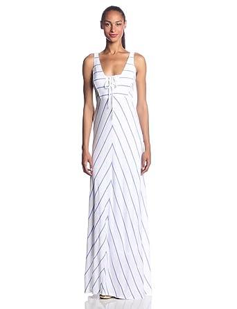 C&C California Women's Empire Maxi Dress, Wisteria, Small