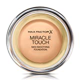 Max Factor Miracle Touch Liquid Illusion Foundation, No.75 Golden, 0.38 Ounce (Color: 75 Golden, Tamaño: 11.5 g)