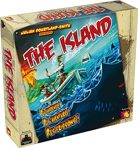 Asmodee - ISL01 - Jeu de stratégie- The Island