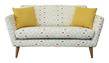 Fizz 1950 Sofa, Fabric - Light Grey