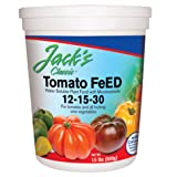 JR Peters 51324 Jack's Classic 12-15-30 Tomato Feed, 1.5 lb. (Tamaño: 1.5 lb)