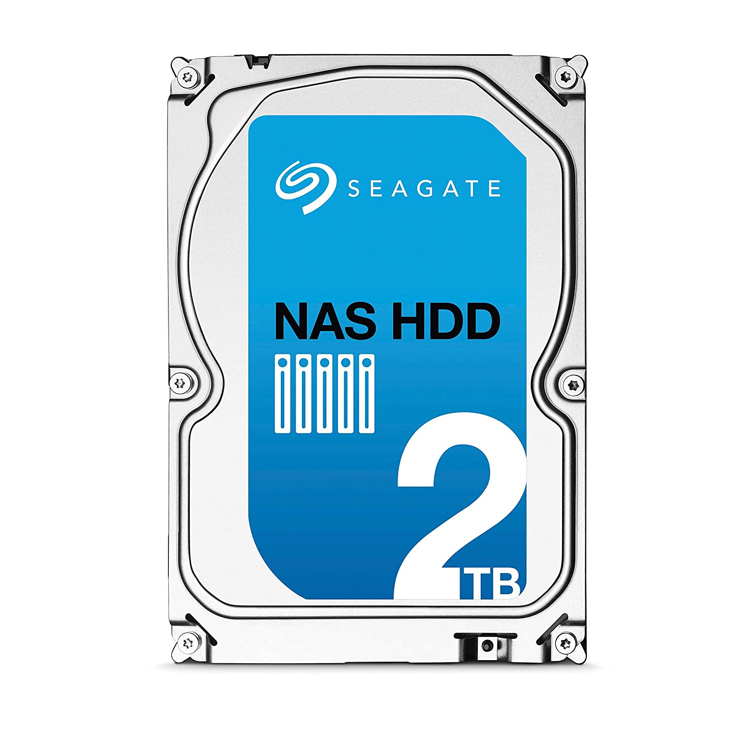 Seagate 2TB NAS HDD SATA 6Gb/s 64MB Cache 3.5-Inch Internal Bare Drive (ST2000VN000)