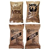 ULTIMATE MRE, Pack Date Printed on Every Meal - Meal-Ready-To-Eat. Inspected Certified by Western Frontier. Genuine Mil Surplus. (4-Pack) (Color: 4-Pack)