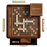 Scrabble Luxury Edition Board Game (Color: Multi)