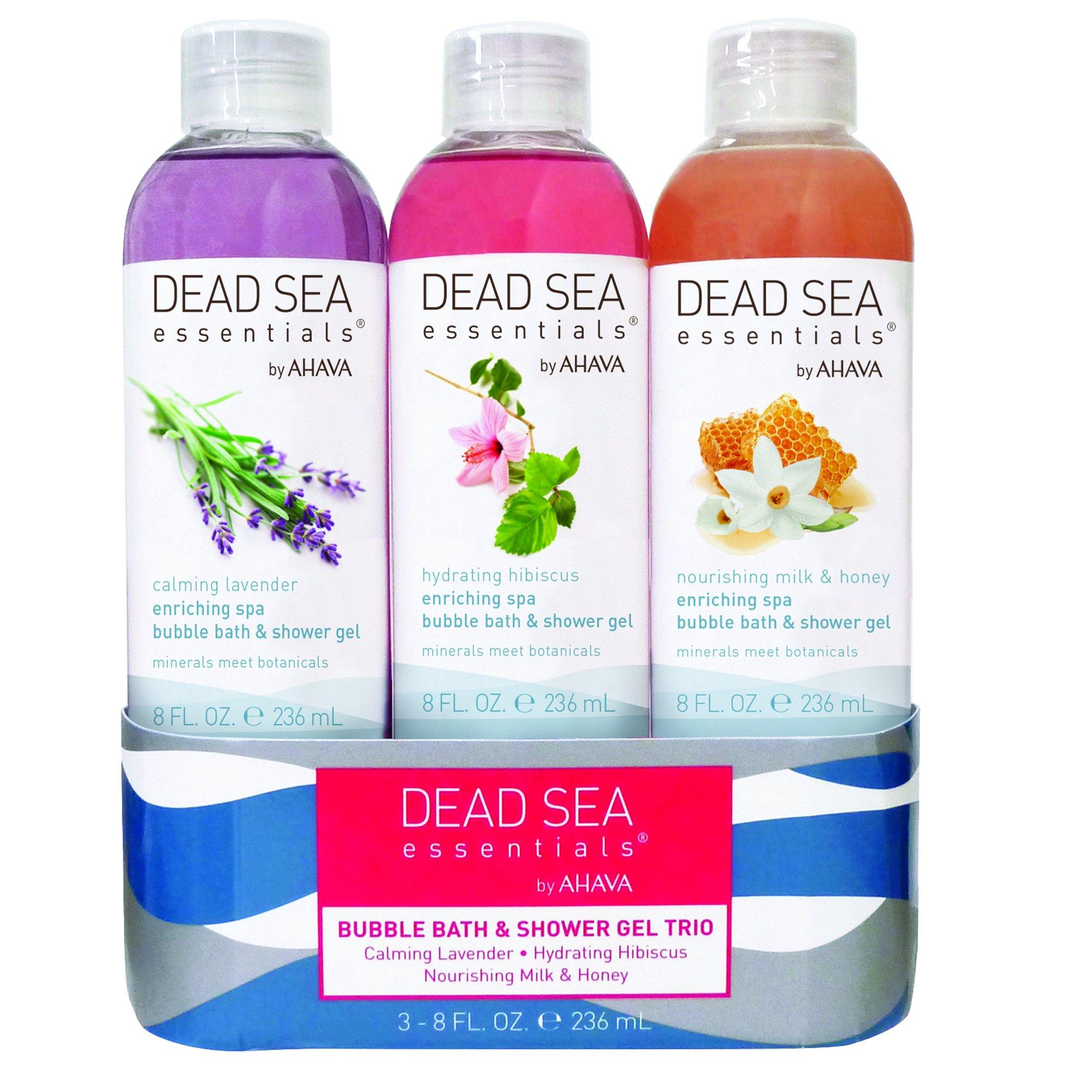 Dead Sea Essentials by AHAVA Bubble Bath Trio Set