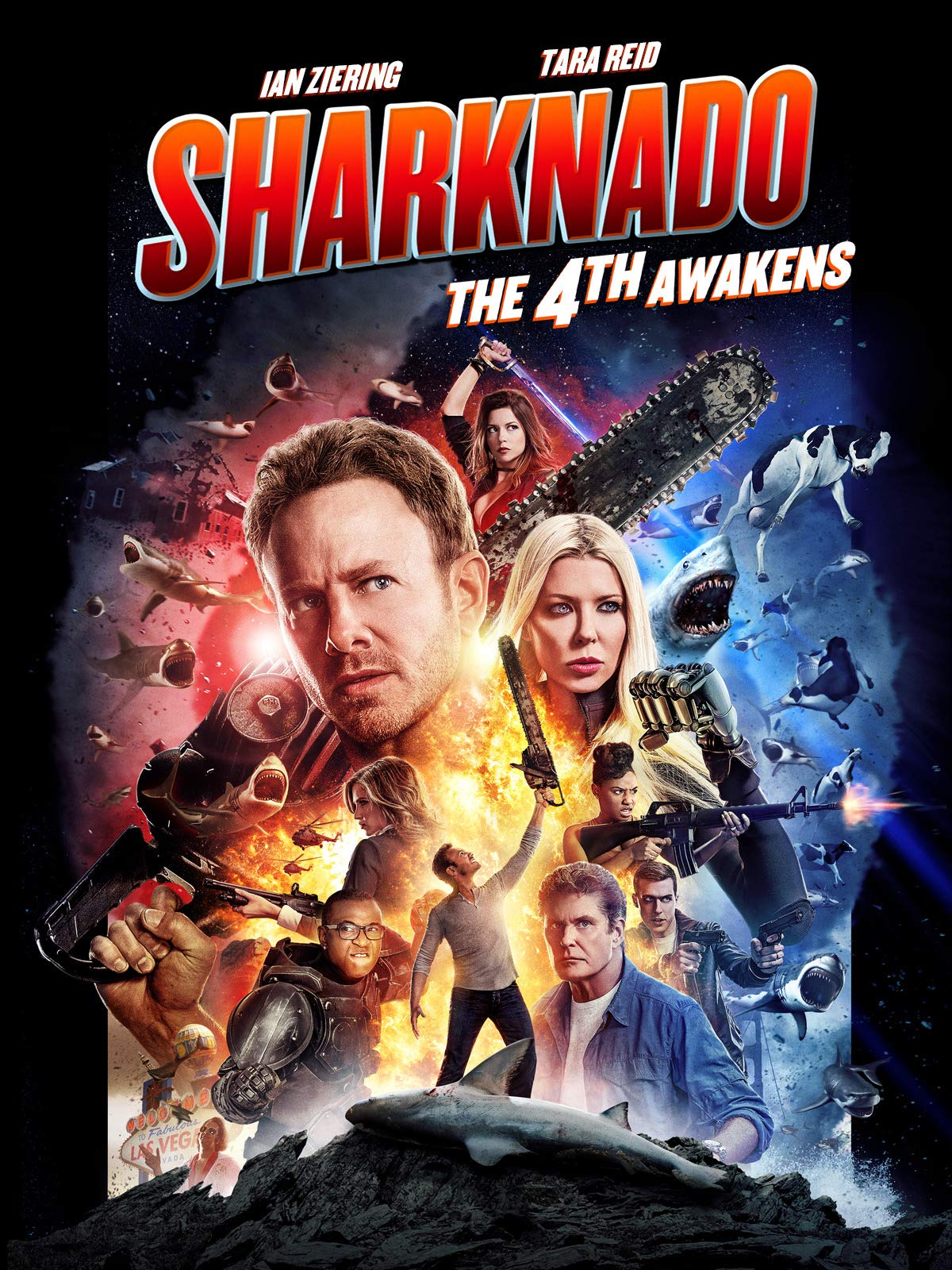 Sharknado 4: The 4th Awakens on Amazon Prime Video UK