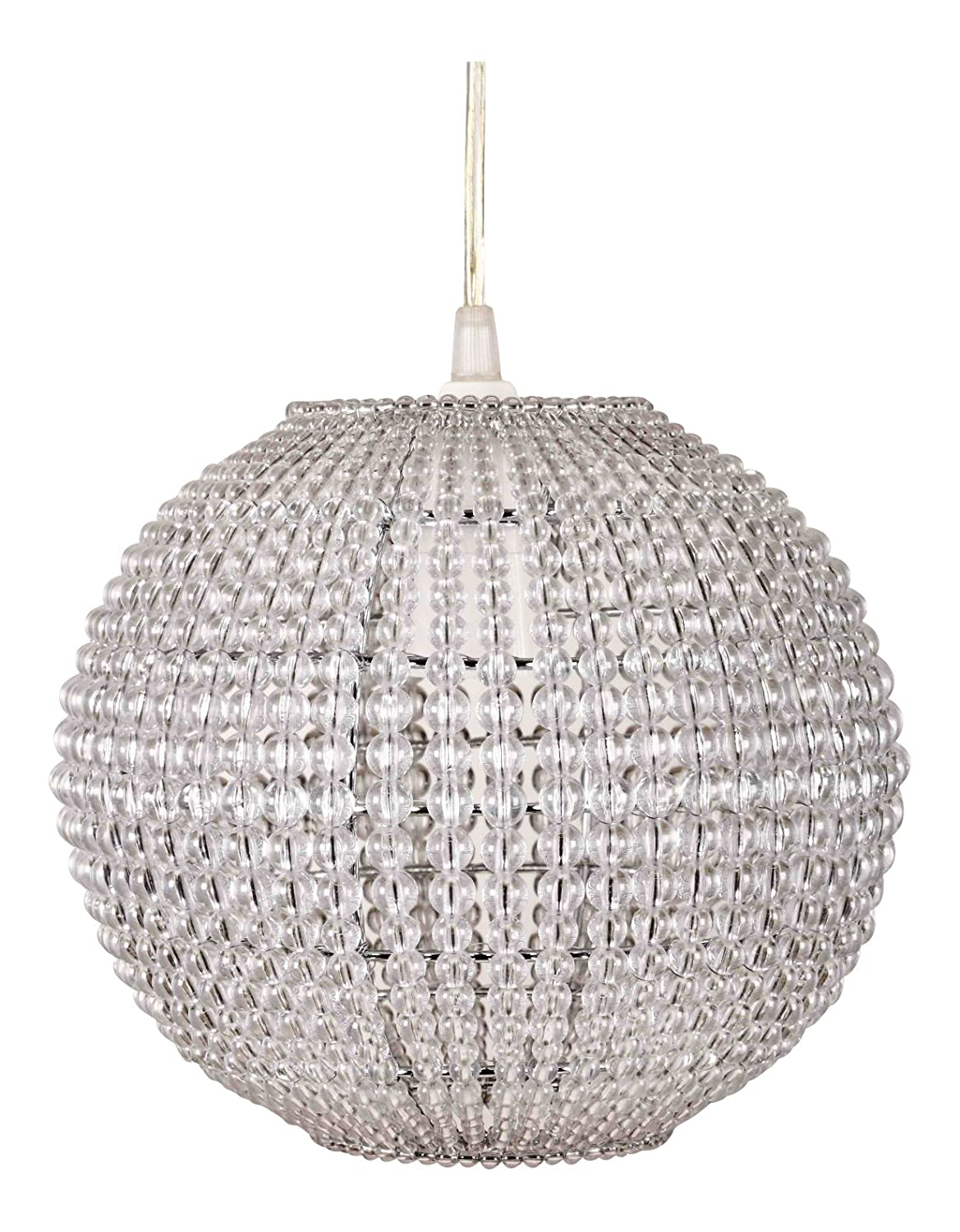 large10 inches modern globe ceiling chandelier light