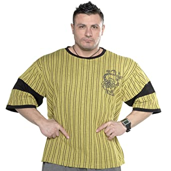 BIG SAM SPORTSWEAR COMPANY Bodybuilding Mens T-Shirt Shirt 2580
