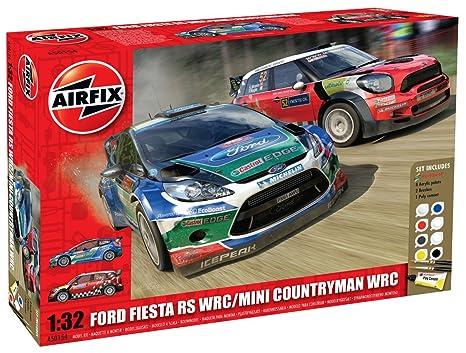 AIRFIX Kit A50154 Ford Fiesta WRC & MINI Countryman WRC Gift Set