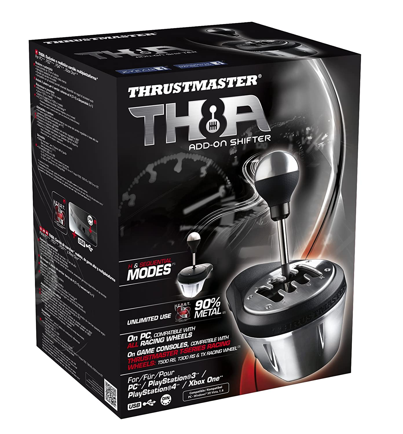thrustmaster vg th8a add on gearbox shifter released for. Black Bedroom Furniture Sets. Home Design Ideas