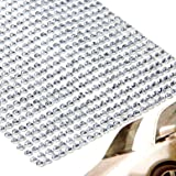 775*3 Sheets 2.5-3mm Clear Rhinestone Self Adhesive Diamantes Stick On Gems