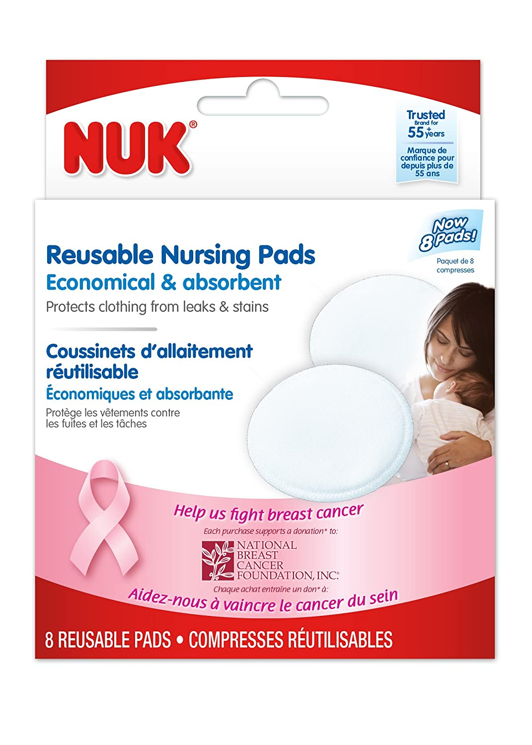 Nuk Reusable Nursing Pads